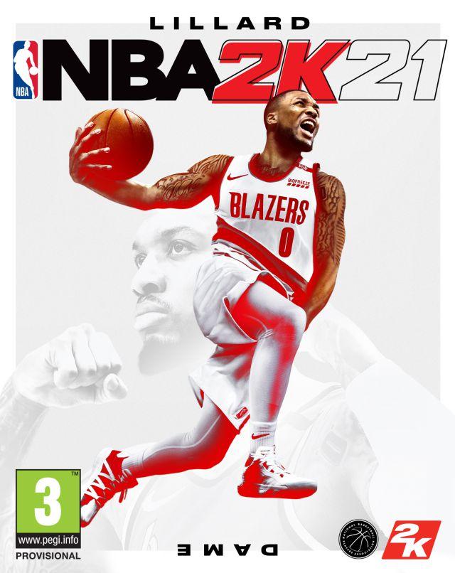 Damian Lillard, portada de NBA 2K21 para la actual generación de ...