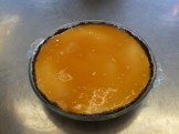 The finished product: Coconut Cheesecake with Guava Sauce