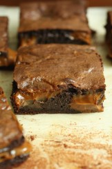 Dulce de Leche Brownies. Photo courtesy of Chef Leticia.
