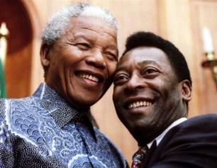 Pelé and Mandela