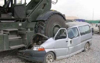 accidente en la obra de construcción