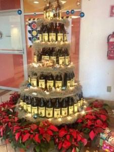 arbol navidad albañil caguamas
