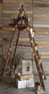 arbol navidad albañil escalera