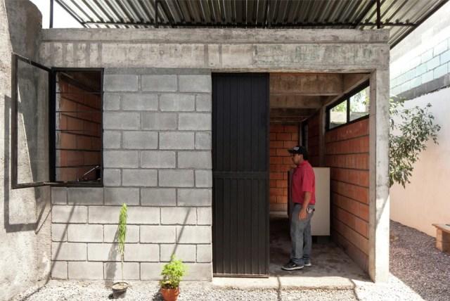 Casa cubierta
