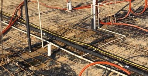 tuberías aisladas en la autoconstrucción