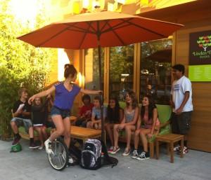 Local-LA-teens-from-Egan-Jr.-High-enjoying-Sit-Share-furniture
