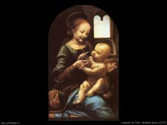 LEONARDO DA VINCI: Madonna Benois