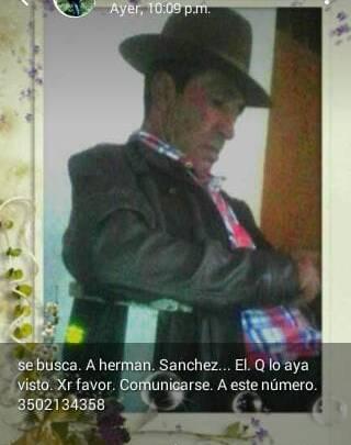 Autoridades en Concepción buscan a hombre de 55 años