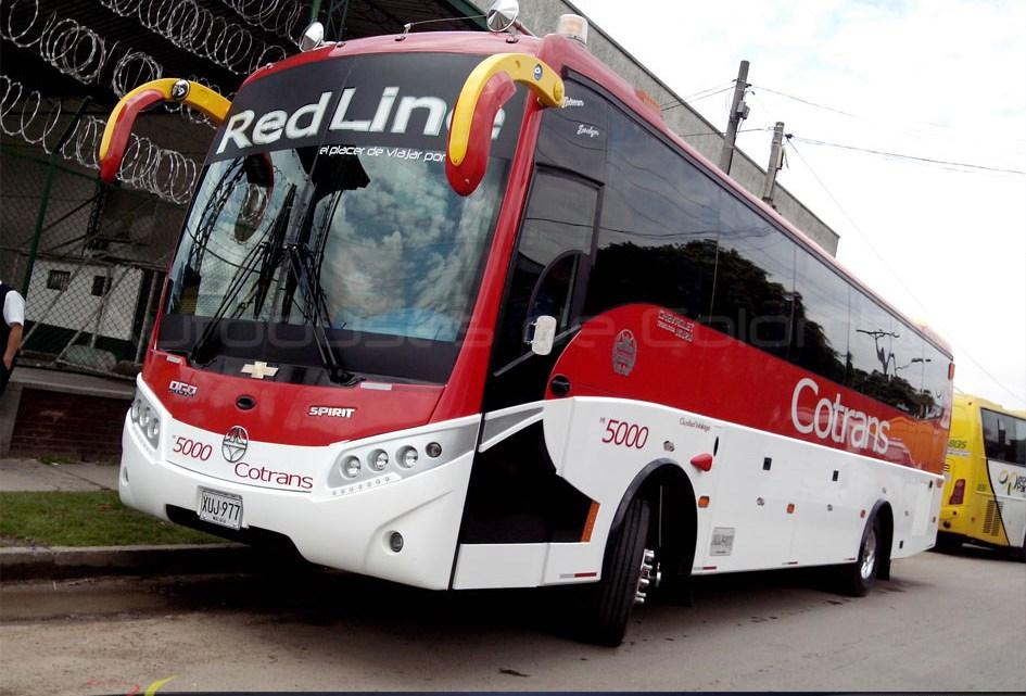 Preocupante relato, anoche atracaron un bus de Cotrans