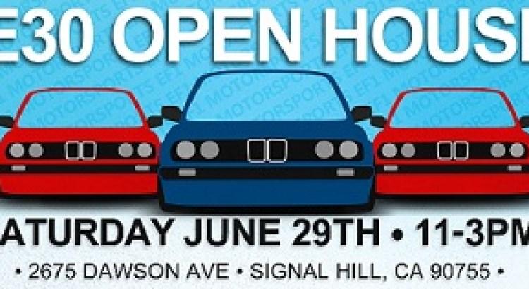 E30 Open House - BMWCCA Los Angeles