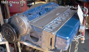 chevy gm 235 6 cylinder engine rebuild, assembled. ready for install.