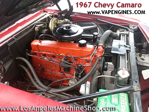 1967 chevy camaro engine