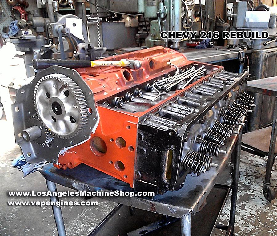 [SCHEMATICS_4UK]  Chevy GM 216 Engine Rebuild - Los Angeles Machine Shop- Engine  Rebuilder|Auto Parts Store | Chevy 216 Engine Diagram |  | Los Angeles Machine Shop
