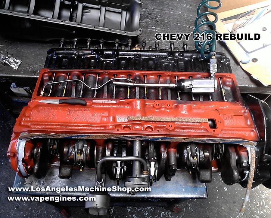 [SCHEMATICS_48DE]  Chevy GM 216 Engine Rebuild - Los Angeles Machine Shop- Engine  Rebuilder|Auto Parts Store | Chevy 216 Engine Diagram |  | Los Angeles Machine Shop