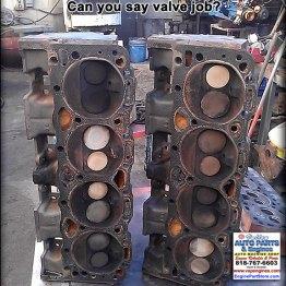 94 Chevy 350 heads needing valve job