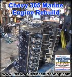 chevy 305 remanufactured marine engine