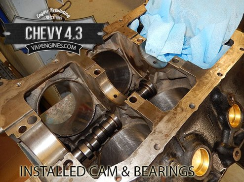 install cam and bearings
