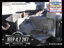 Jeep 4.7 high output label on head