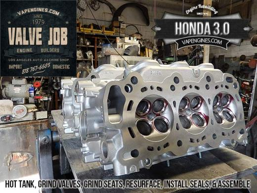 Honda 3.0 valve job
