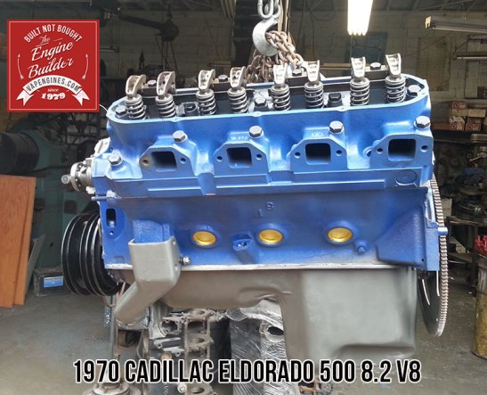 Cadi eldorado 8.2 remanufactured engine