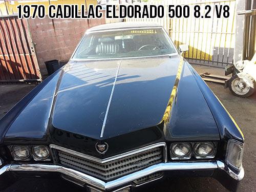 1970 cadillac eldorado 500