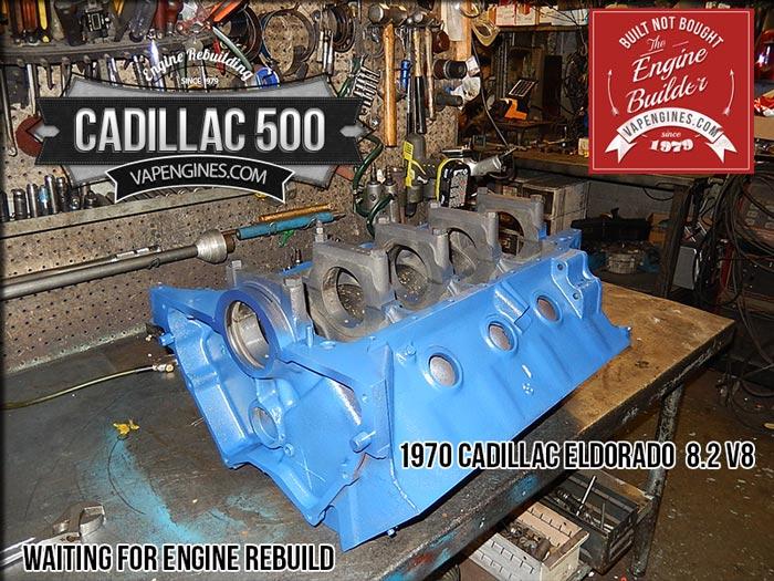 Remanufactured Cadillac Eldorado 500 8.2 V8 Engine | Los Angeles Machine Shop- Engine Rebuilder ...