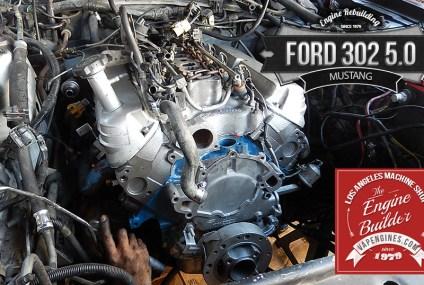 89 Ford Mustang 302 long block engine rebuild