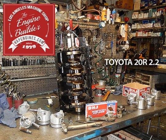 toyota 20r short block assembly