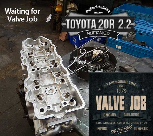 Toyota 20r 2 2 Remanufactured Engine Los Angeles Machine Shop Engine Rebuilder Auto Parts Store