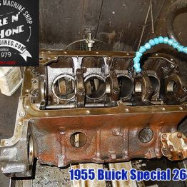 Honing buick special block