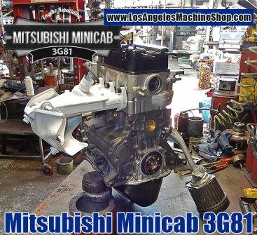 Mitsubishi Minicab 3G81 engine