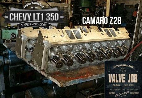 cylinder heads for GM LT1 350 5.7 valve job