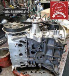Mitsubishi Minicab 3G81 engine rebuild