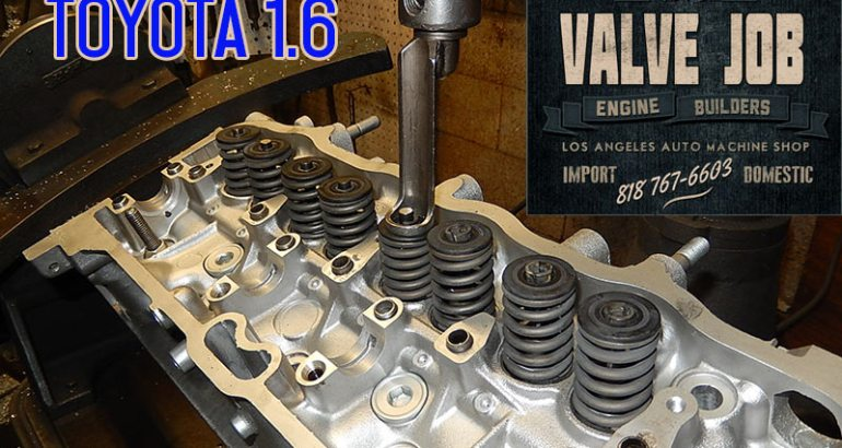 toyota corolla 1.6 cylinder head springs