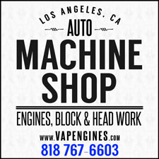 LA Machine block and head work