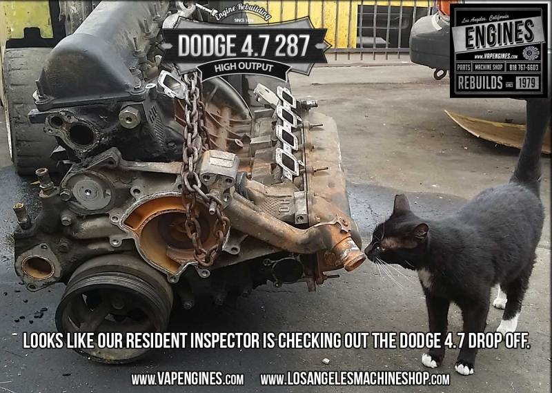 Dodge 4.7 engine inspection