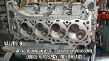 Dodge 4.7 HO cylinder head valve job