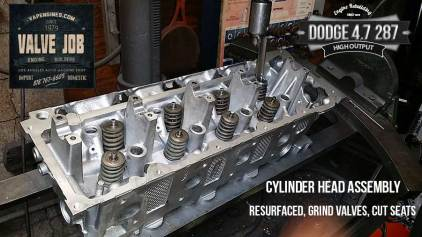 Dodge 4.7 HO cylinder head assembly