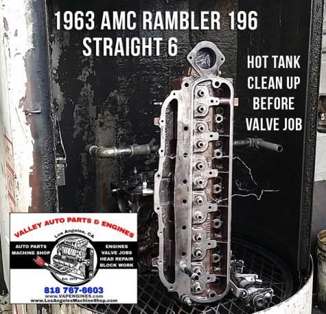Rambler cylinder head hot tank