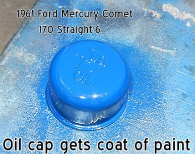 Mercury Comet oil cap