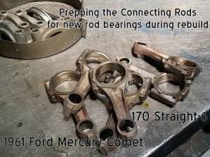 Mercury Comet connecting rods