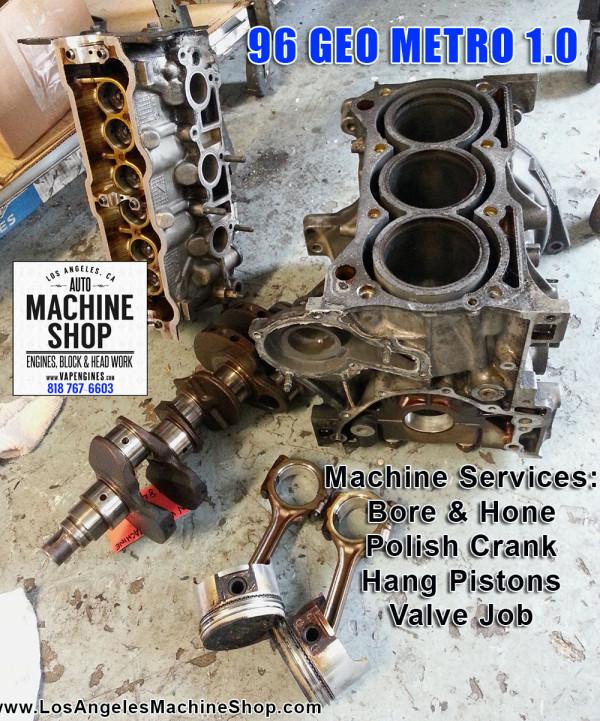 96 Geo Metro Engine repair