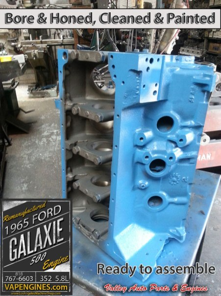 Engine block Ford 352 5.8