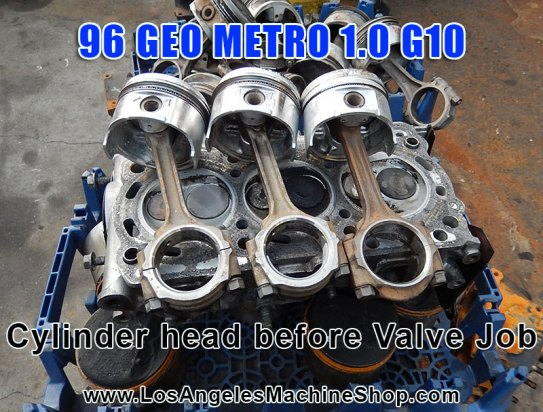 geo metro G10 pistons