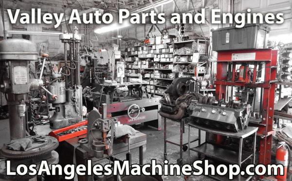 Auto Machine Shop interior