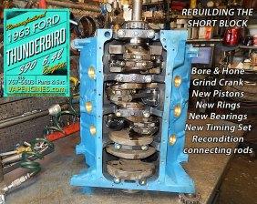 engine rebuild ford 390