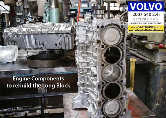 Long block rebuild components