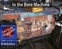 Bore Datsun Roadster 1600 engine block