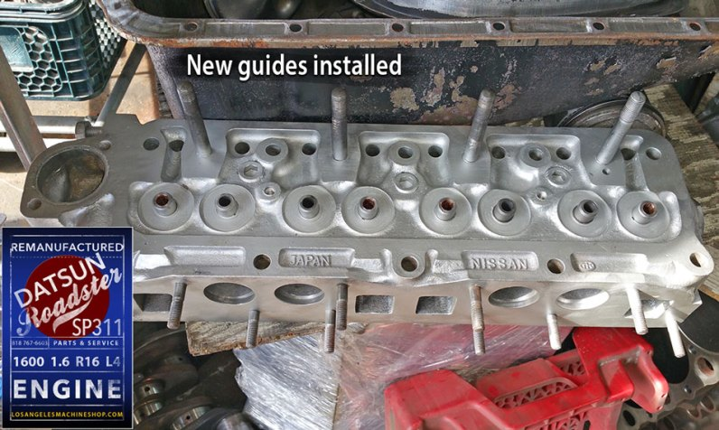 new guides on Datsun 1.6 head