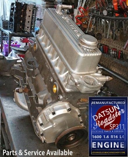 Remanufactured Nissan Datsun Roadster 1600 SP311 Engine
